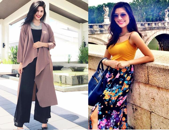 Foto Afifah Nasir, Adik Pelakon Cantik Anzalna