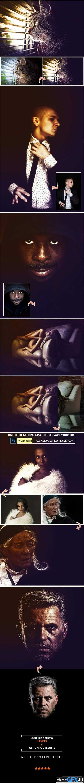 Dark & Light Photoshop Action