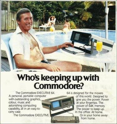 Portable Commodore Executive 64