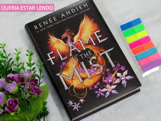 Li até a página 100 e... #67 - Flame in the Mist