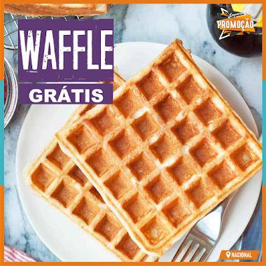 Brindes Grátis - Ganhe um Delicioso Waffle de Presente