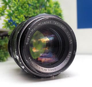 Lensa Takumar 50mm f1.4 + Adapter to Sony Nex