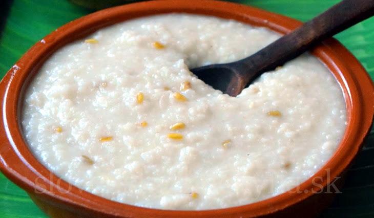 Mliečna polievka s ryžou