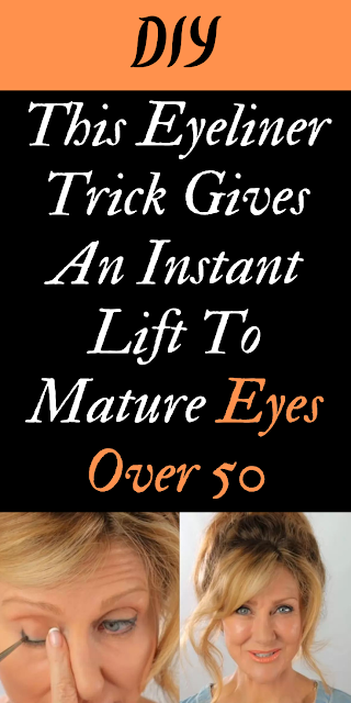 This Eyeliner Trick Gives An Instant Lift To Mature Eyes Over 50