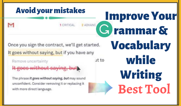 Improve Grammar and Vocabulary while Writing: Best Tool of 2021