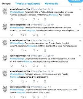 Al menos 4 sicarios fueron abatidos en sector Villa Florida de Reynosa Tamaulipas
