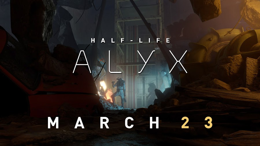 half lfe alyx vr exclusive release date march 23 valve corporation steam