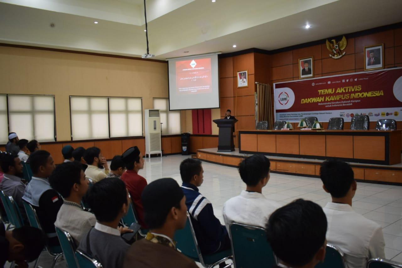 Ketum LIDMI: Wujudkan Indonesia Beradab Melalui Dakwah Kampus