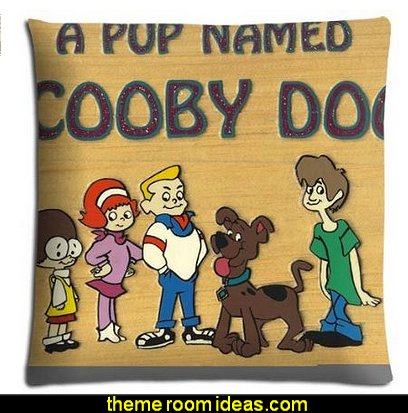 A Pup Named Scooby Doo bedding pillow cases