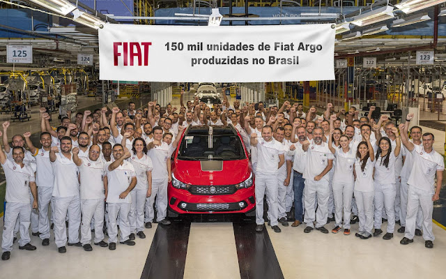 Novo Fiat Argo 2020 Trekking