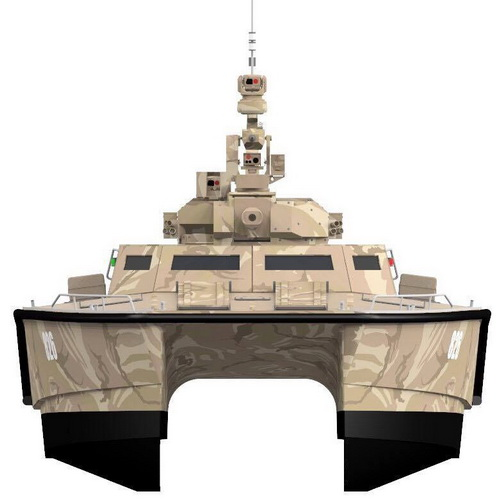 Tinuku.com Pindad, Lundin and CMI Defence has completed X18 Tank Boat Antasena design and slid 40 knots in swamp
