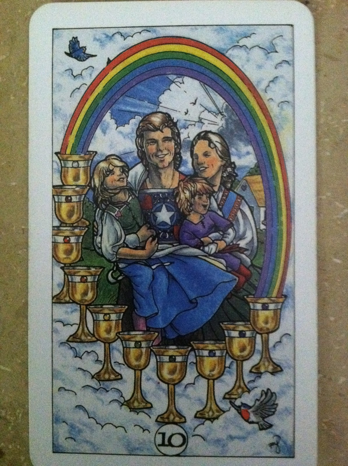 Turtlephoenix Tarot, Dreams, And Astrology: 10 Of Cups