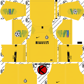 Inter Milan 2018/19 UCL Kit - Dream League Soccer Kits