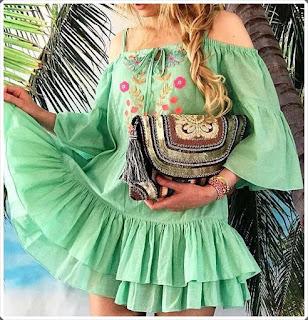 Elişi Elbise Modelleri - Moda Tasarım 14