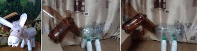Pet Şişelerden Oyuncak Eşek Yapımı 2