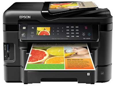 sheet newspaper trays Affordable trouble concern printing  Epson WorkForce WF-3530 Driver Downloads