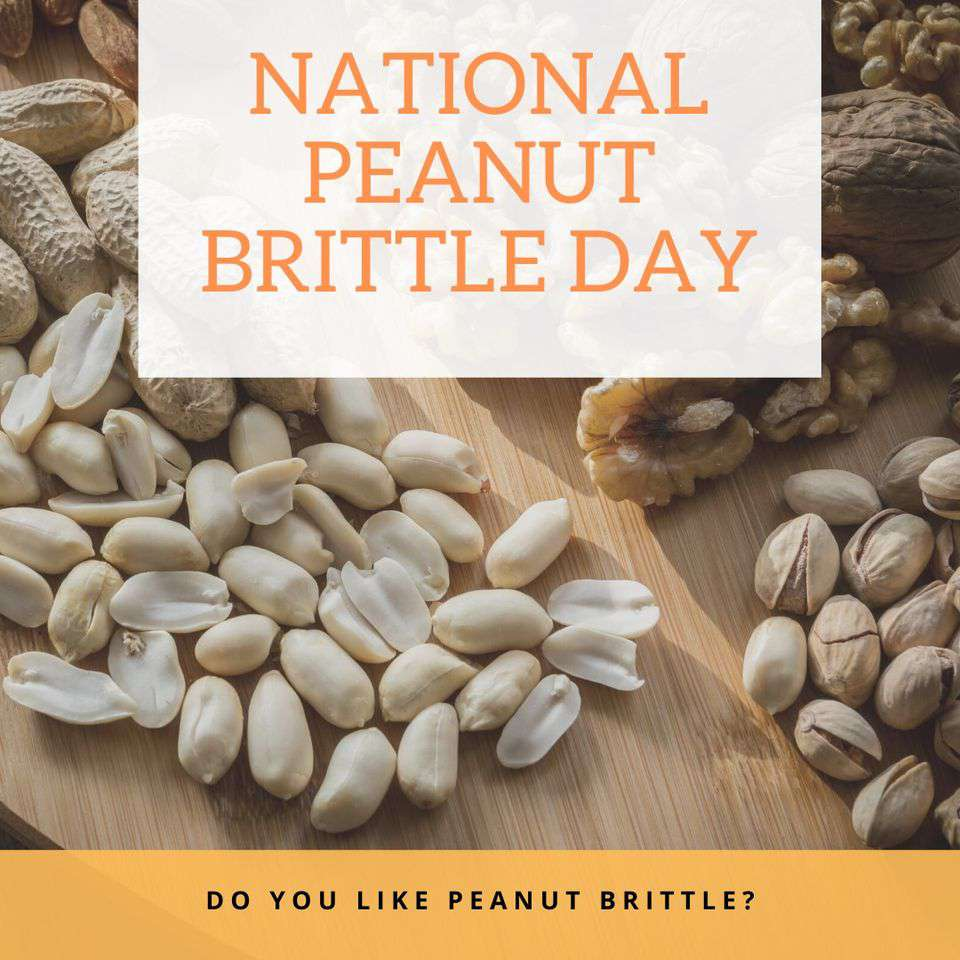 National Peanut Brittle Day Wishes for Instagram