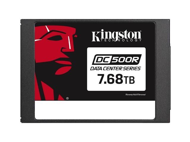 Kingston'ın DC500R ve DC450R SATA SSD modelleri artık 7,68 TB'a kadar kapasite seçeneklerine sahip