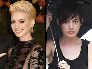 Back to basics: Anne Hathaway est redevenue une brune