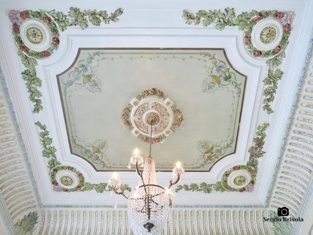 Palacete Basílio Jafet (lustre da Sala de Recepção)