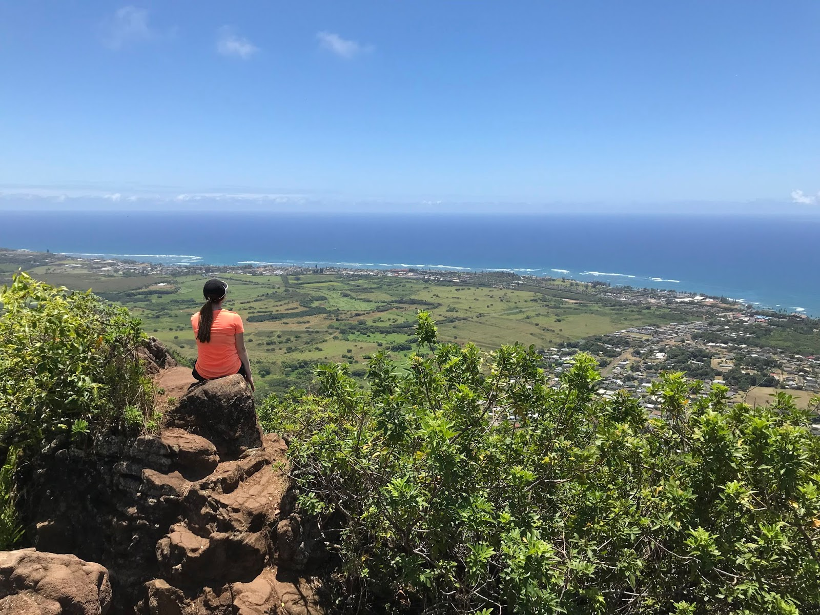 Views from Sleeping Giant Hike | Hiking in Kauai | Kauai Itinerary | A Memory of Us