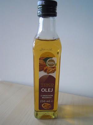 Mój pierwszy raz z olejem z orzechów włoskich