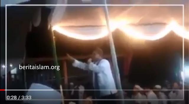 Haddad Alwi Dipaksa Turun Dari Panggung