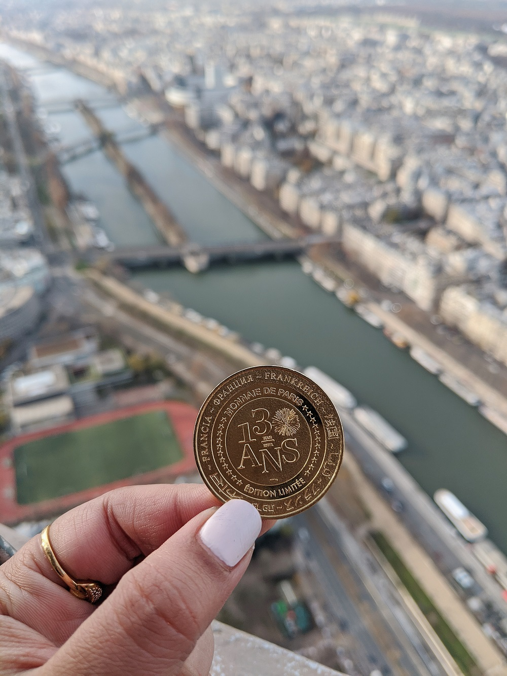 130 Years of Eiffel Tower Limited Edition Coin