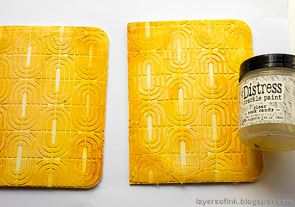 Layers of ink - Autumn Sketchbook / Notebook diy Tutorial by Anna-Karin Evaldsson.