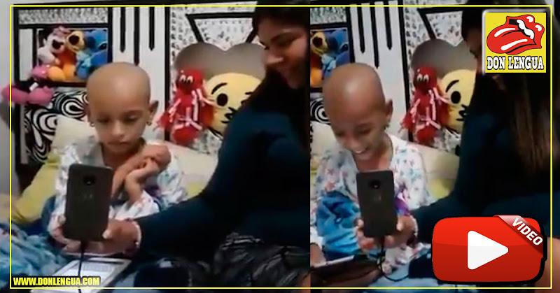 Juan Guaidó cumplió el sueño de una niña con cáncer que quería conocerlo
