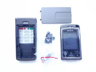 Casing Nokia 6260 Flip Putar New Fullset Keypad Tulang Ori 99