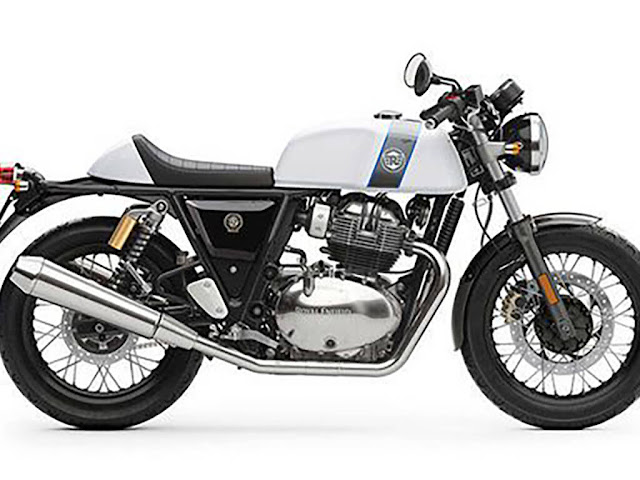Royal Enfield Continental GT 650 side look