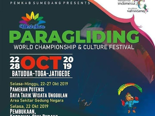 Jadwal Paragliding World Championship and Culture Festival 2019