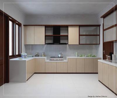Gambar Desain Dapur Rumah Minimalis Sederhana