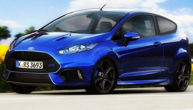 2017 Ford Fiesta Rs Train