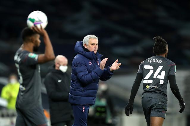 Jose Mourinho gives update on Pierre-Emile Hojbjerg injury