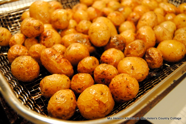 Grilled Spring Potatoes at Miz Helen's Country Cottage