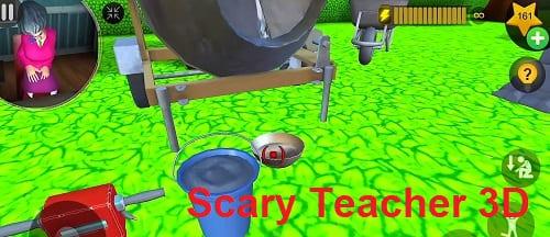 تحميل لعبة المعلمة الشريرة  scary teacher 3d للاندرويد