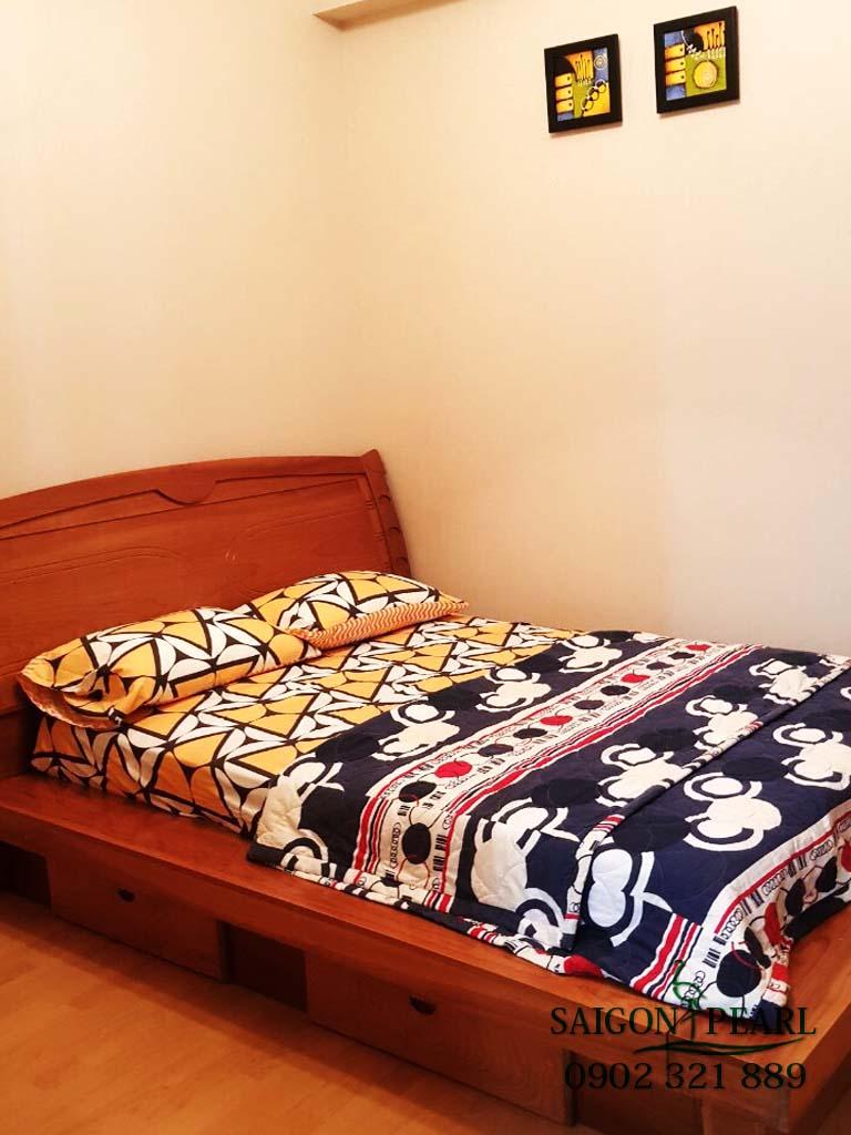 Topaz 1 Saigon Pearl cho thuê căn hộ 2 phòng ngủ - phòng ngủ nhỏ