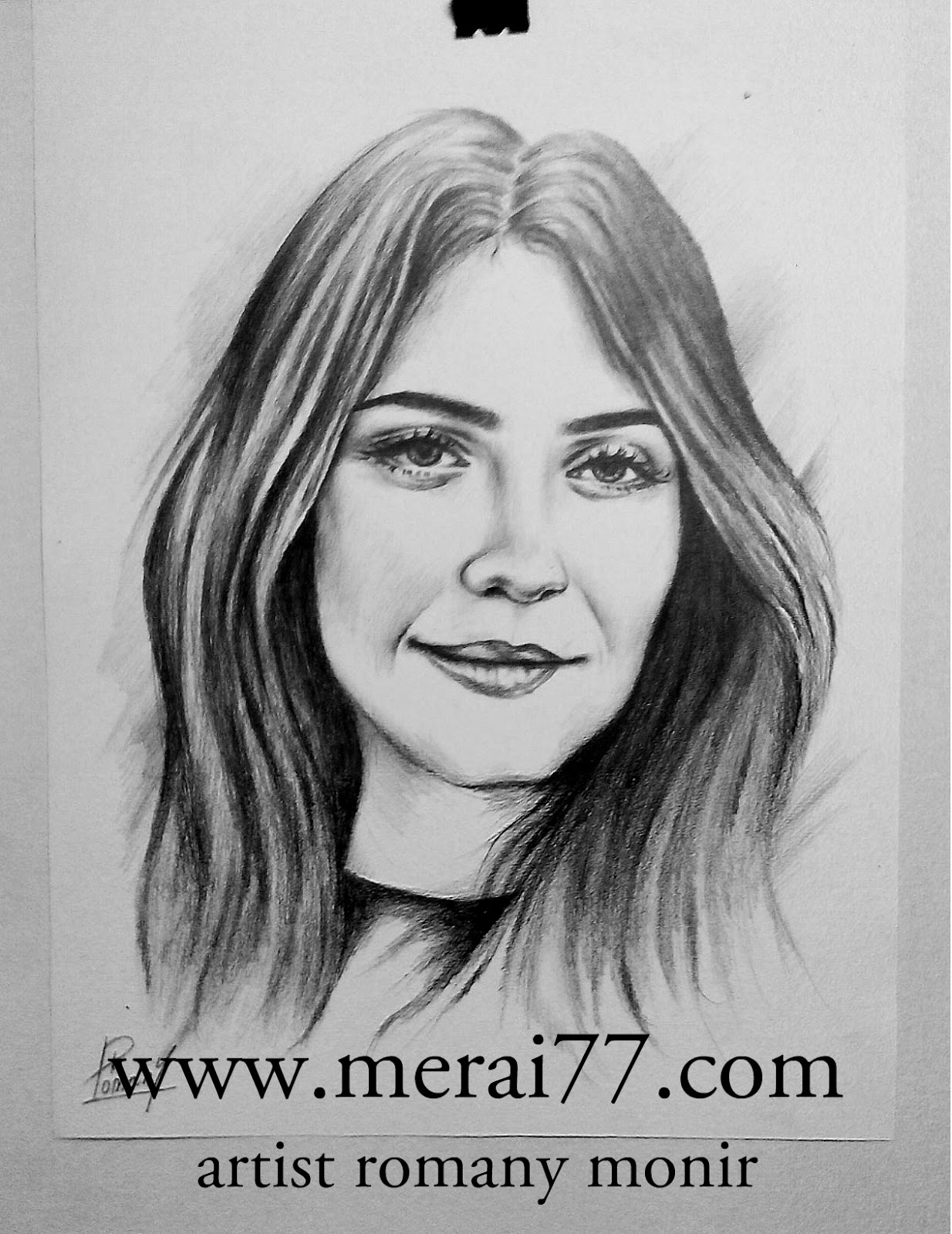 اماكن رسم بورتريه يدوي بالقلم الرصاص Merai77