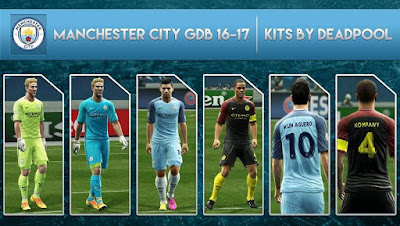 Manchester City GDB 2016-17 [OFFICIAL] by DEADPOOL-Kits