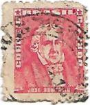 Selo José Bonifácio, Cr$ 20,00