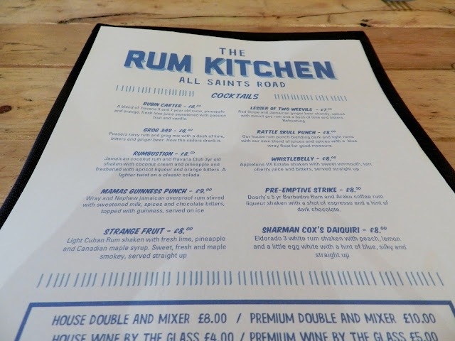 Rum Kitchen, Notting Hill
