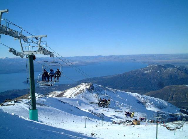 Onde é a estação de esqui Cerro Catedral