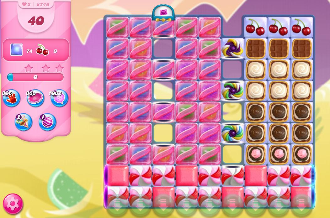 Candy Crush Saga level 8746