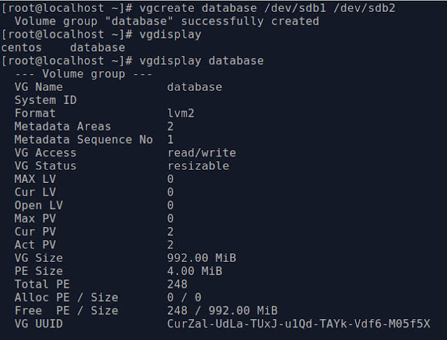 lvm partition in linux
