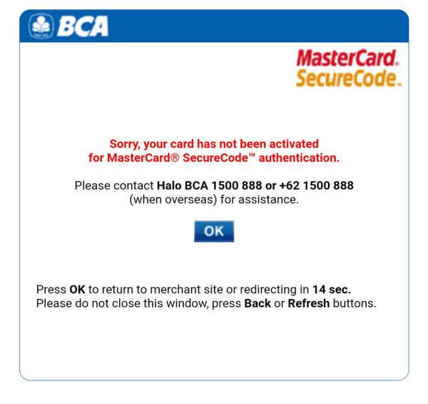 Mengapa Kartu Kredit BCA Tidak Bisa Digunakan?