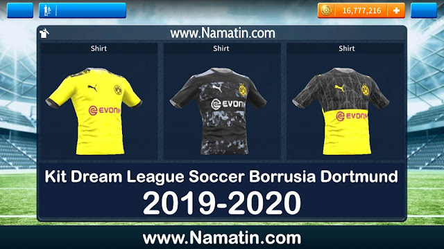Kit Dream League Soccer Borrusia Dortmund