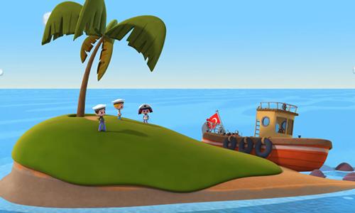 Niloya Kara Denizde Bir Gemi