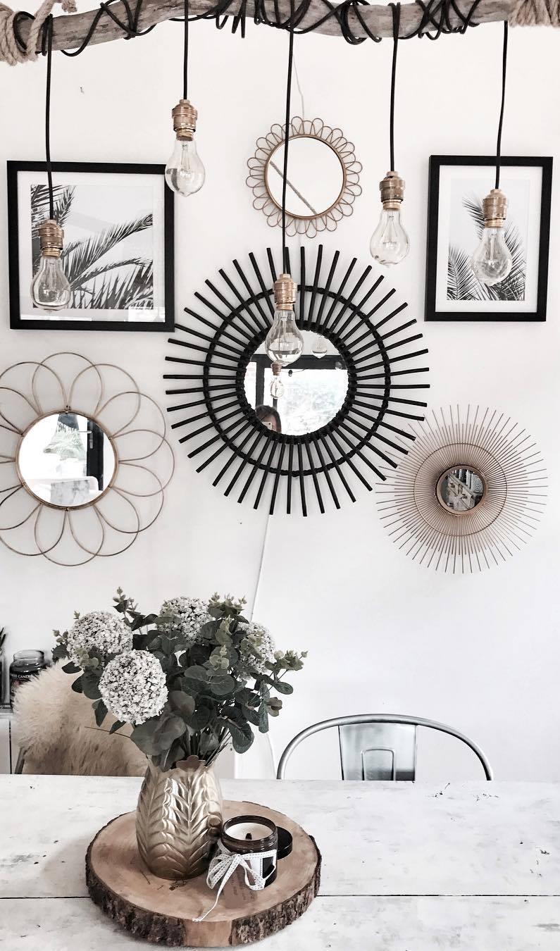 home boho style decoration